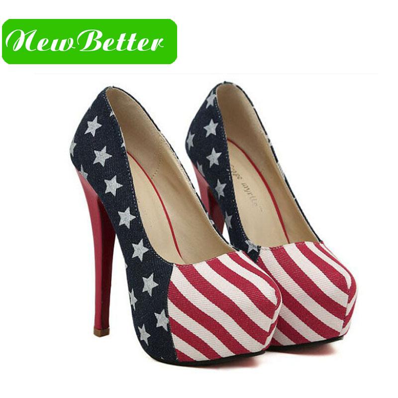 Aliexpress.com : Buy Women size 11 Red bottom high heels American ...
