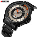 CURREN Business Mens Watches Top Brand Luxury Auto Date Stainless Steel Watch Military Sport Wrist Watch