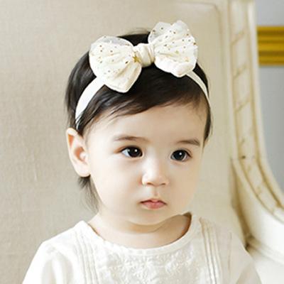 40pcs/lot Baby Girl Glitter Mesh Bow Headband Newborn Baby Headband<br><br>Aliexpress