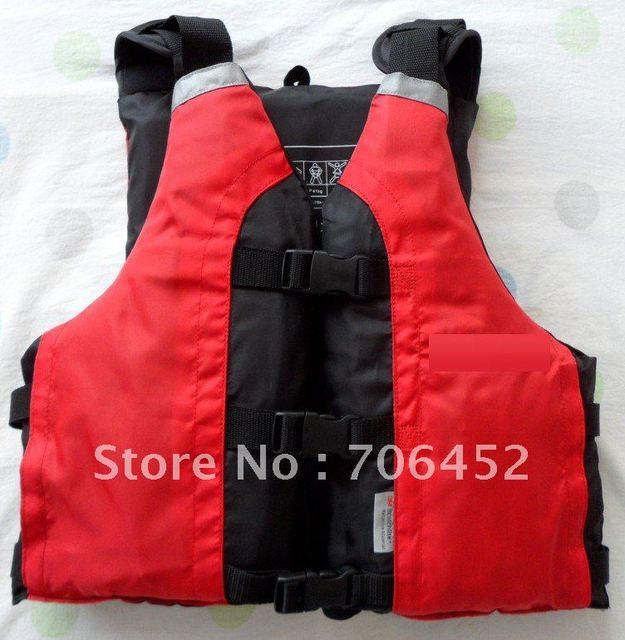 life jacket,PFD for kayak,paddling,sailing,fishing,red color,free size