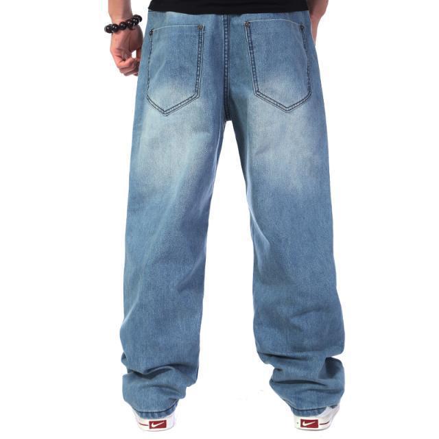 denim pants plus size baggy jeans hip hop jeans hiphop