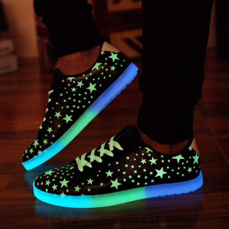 Elegant Women39s Breathable LED Light Up Shoes For Adults Brand Essence