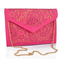 2015 Fashion Vintage women Messenger Bags Women Bag Trend designer handbags Hollow Out envelope Day clutch