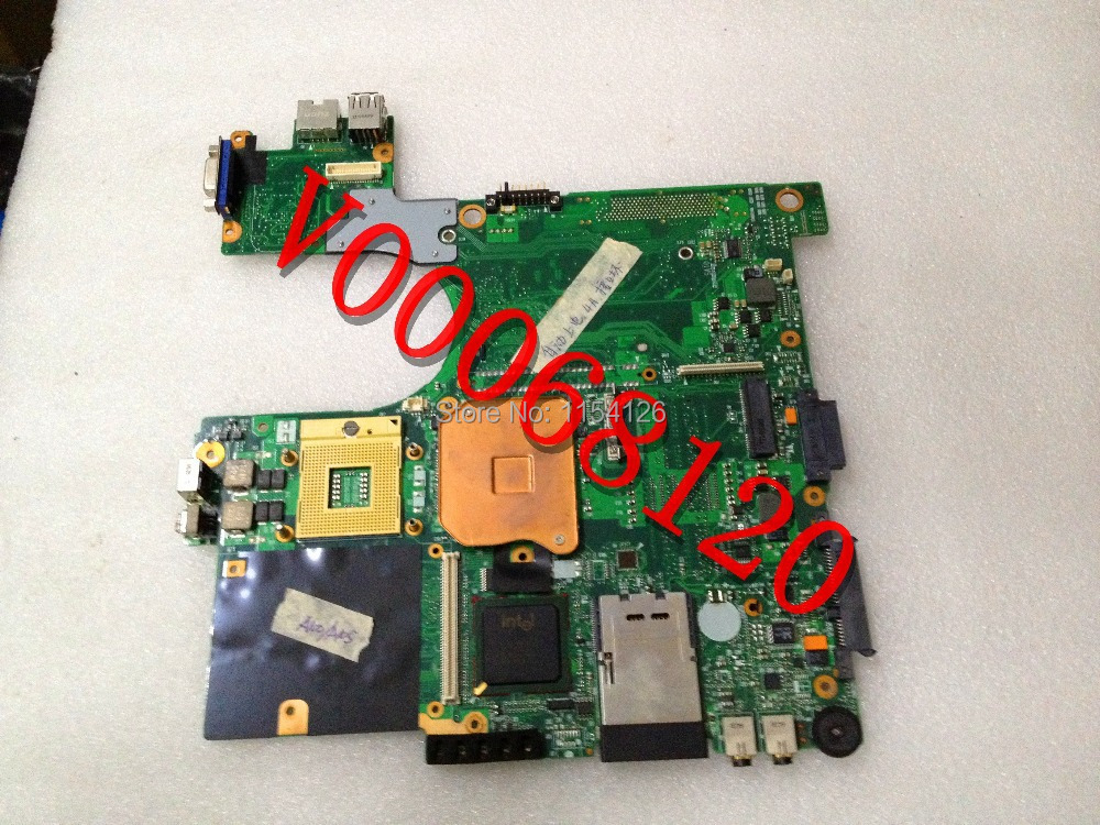 laptops MOTHERBOARD FOR TOSHIBA Satellite A100 A105 V000068620 V000068120 6050A2041301 100% TESTED(China (Mainland))