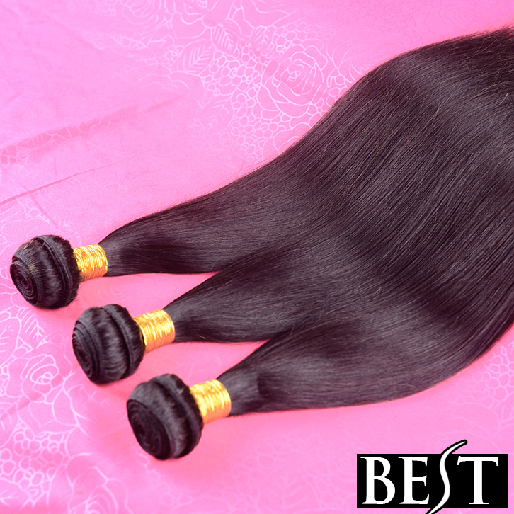 Light Brown Hair 6A Peruvian Virgin Hair Straight 3bundles/Lot Human Hair Extensions Free Shipping Queen Hair Products Soft End(China (Mainland))