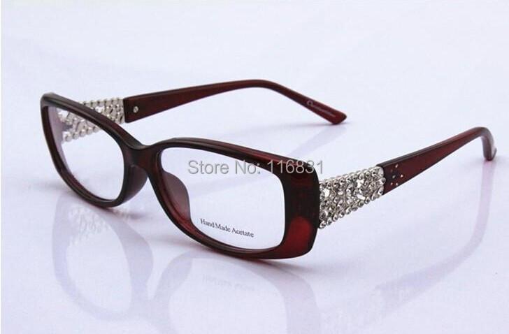d5baa9d2a48e 2019 Wholesale 2015 Rhinestone Glasses Cd3184 Myopia Eyeglasses ...