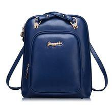 Blue Casual Bags Women Bag Fashion Handbags 2016 Zipper Cool Back Women Messenger Bags 2016