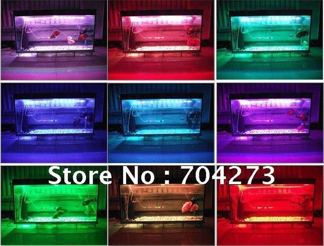 20CM ONE STRIP/5050 LED Aquarium lighting/Change a variety of colors/Colored fish tank/FREE SHIPPING