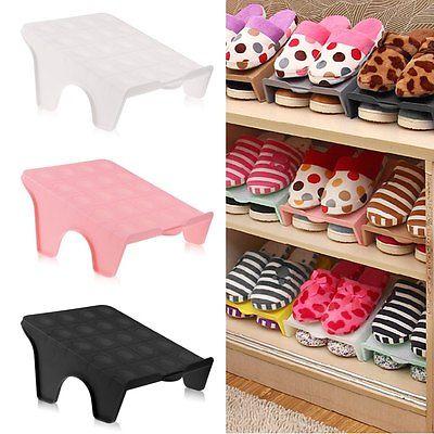 Household Daily Convenienct Product Home Shoe Rack Shelf Storage Closet Shoes Organizer Cabinet Holder(China (Mainland))