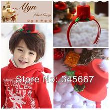 Kawaii Christmas joy GOOD Korean children hair accessories hat hair bands