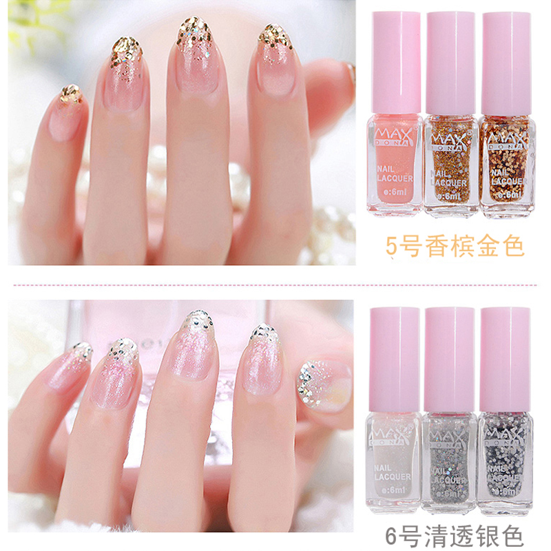 Multi Colors Options Magic Three-Color Cocktail Gradient Nail Polish Women Lady Professional Nail Art Products(China (Mainland))