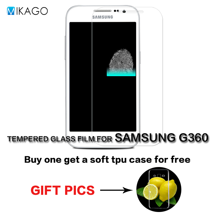 9H Glass Lfor SAMSUNG Galaxy Core Prime G360 font b Case b font Tempered Glass Film