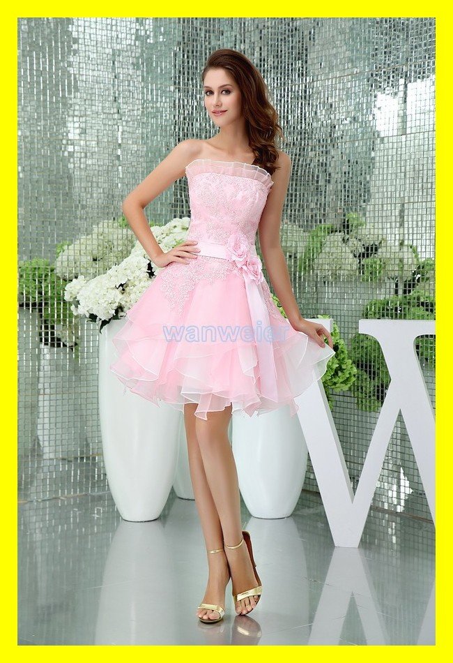 Party Dresses Uk New Years Dress Ideas Christmas Junior A-Line Knee-Length Flowers Built-In Bra Scalloped Off The Sho 2015 Cheap(China (Mainland))