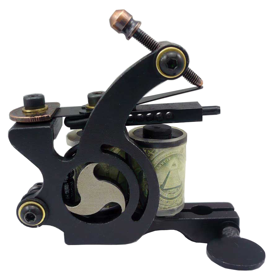 Free shipping 10 wrap coils tattoo machine tattoo guns for Tattoo gun prices