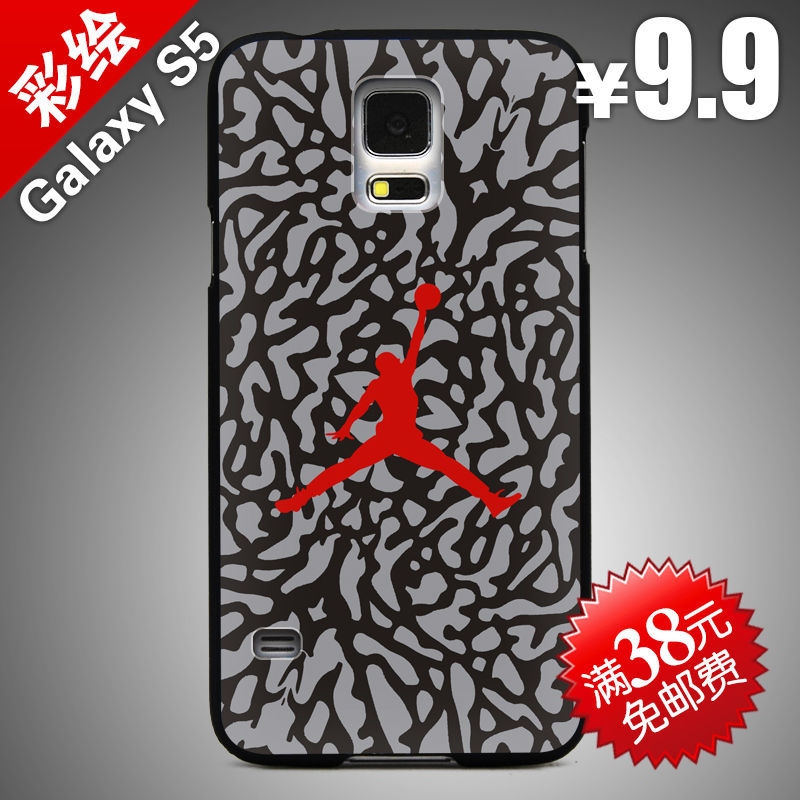hard case Painted For Samsung Galaxy S5 SM-G9006V/i9600 cover phone casing protective case shell cases 11 jordan logo(China (Mainland))