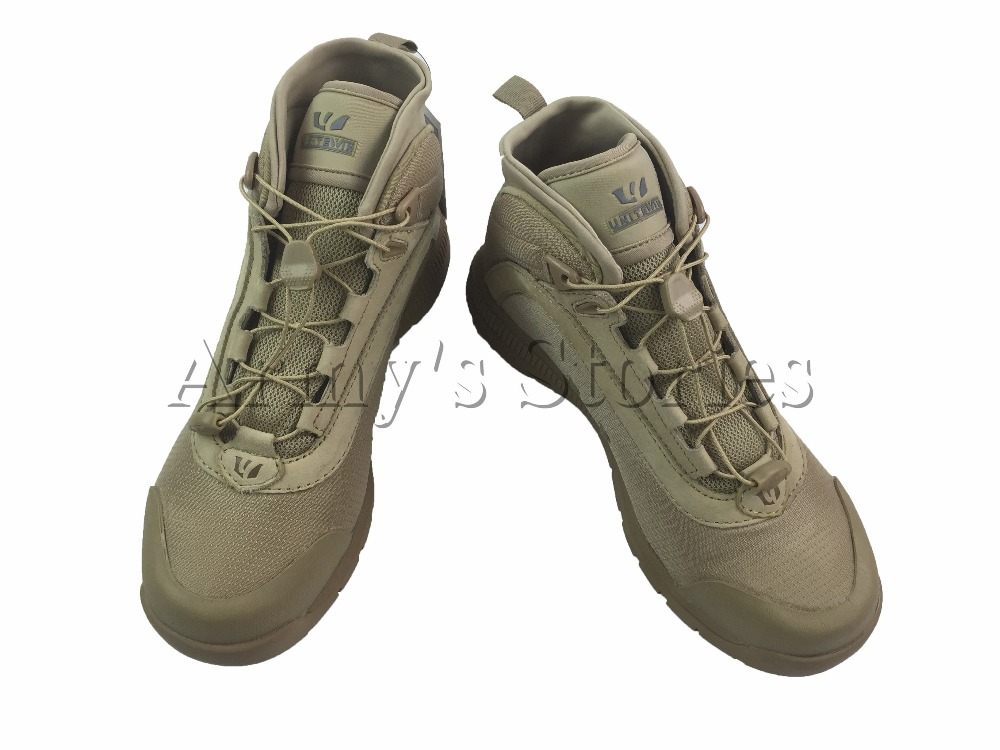 Фотография Military Tactical Army Boots Soft leather High Quality Casual Combat Hunting Hiking Outdoor Skating Travel Sand Boots Shoes