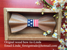 Handmade wood bow tie wooden tie wooden bow designer accessories for men