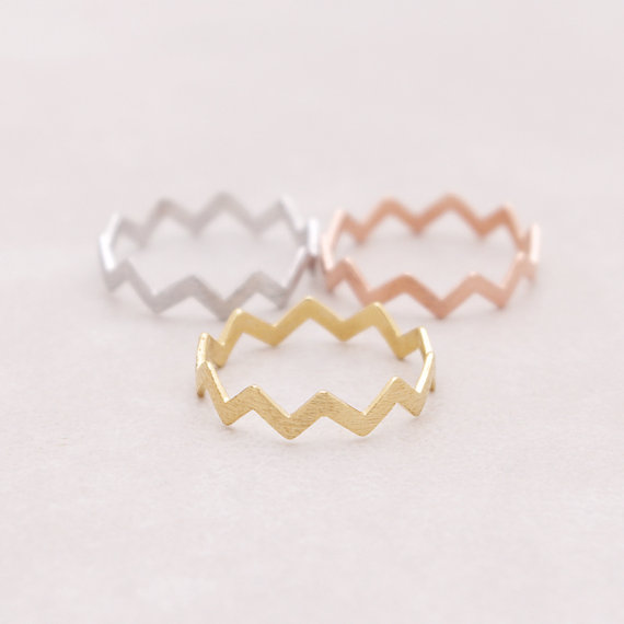 SMJEL 2017 New Filed ZIG ZAG Band Thumb Ring Midi Circuitous Turns Rings for Women R032(China (Mainland))