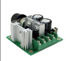 Широтно-Импульсной Модуляции 12 В-40 В 10A PWM DC Управления Двигателем Переключение Скорости Новый Бесплатная Доставка