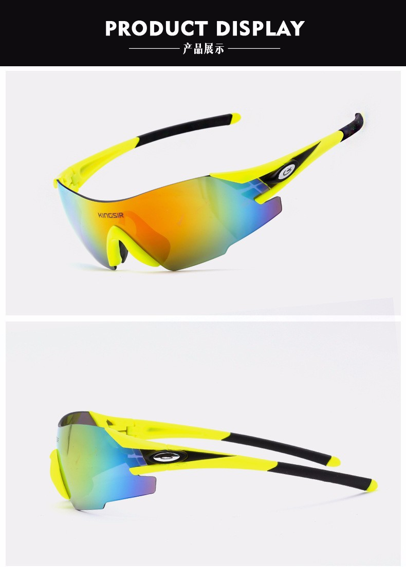 Men Women Cycling Eyewear Sunglass Outdoor Cycling Glasses Bicycle