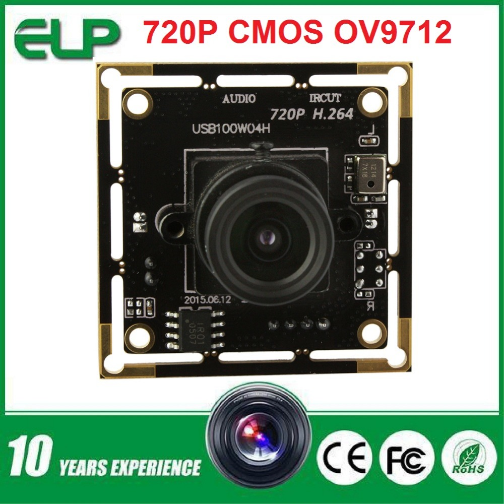 H.264 OV9712 cmos  mini endoscope usb camera module support microphone ELP-USB100W04H-L80<br><br>Aliexpress