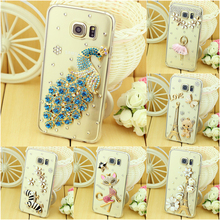 New Luxury Rhinestone Diamond Cover Case for Samsung Galaxy Note 5 Note 7 Case Cover for Note5 Note7 Wholesale(China (Mainland))