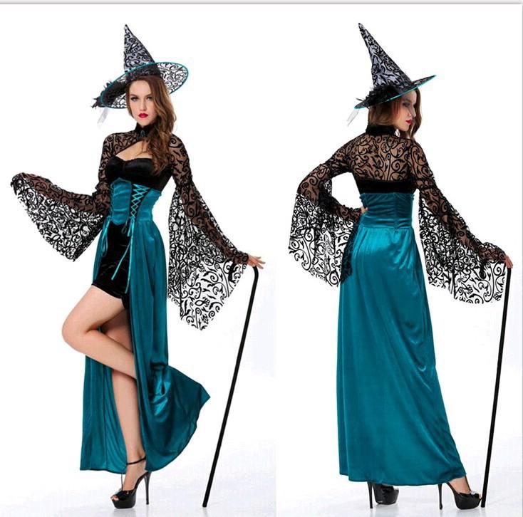 Маскарадный костюм ведьмы своими руками