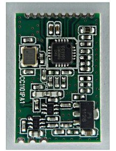 25pcs lot CC1101 PA 433MHz wireless module(China (Mainland))