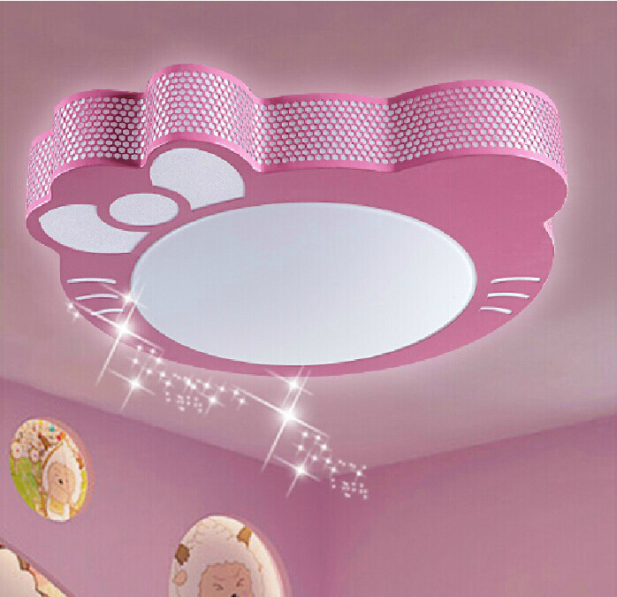 Plafondlamp Kids Plafond LED Licht Kat Cartoon Lamp Jongens & meisjes ...