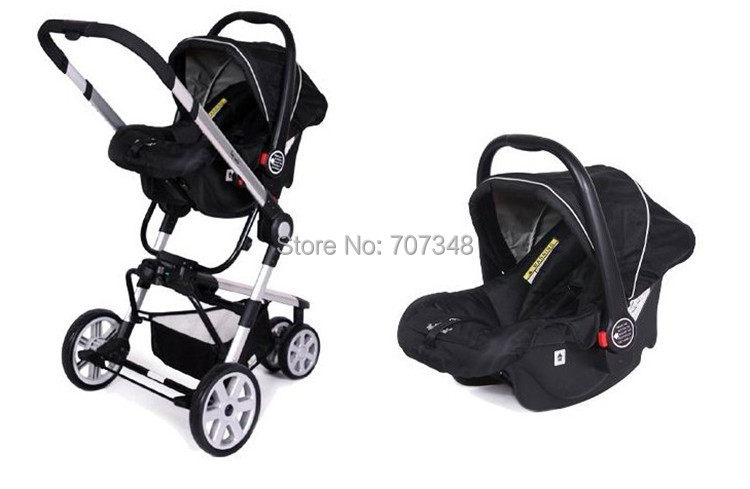 Excellent Quality/Competitive Price Baby Car Seat and Stroller,After Folding can be Dragged,Free and Fast Shipping,Kid Pushchair(China (Mainland))