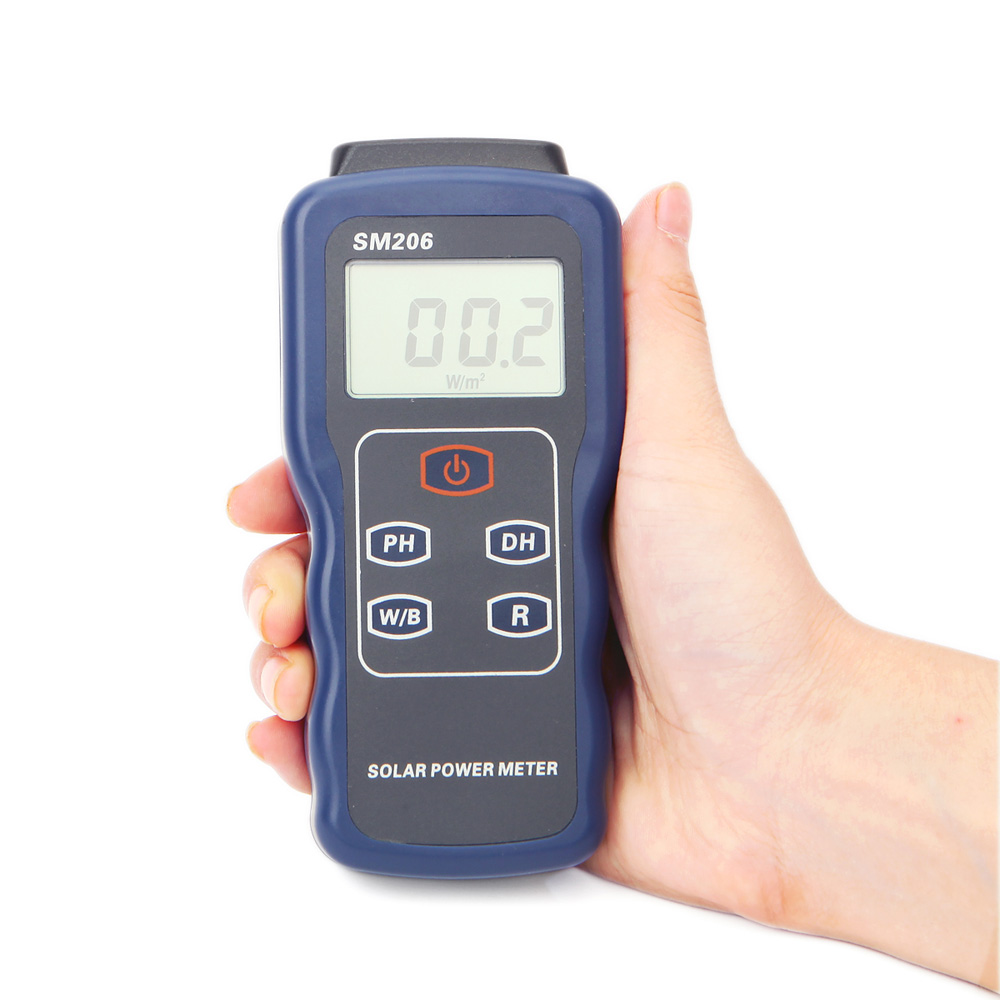 SM206 Light Intensity Measurement Radiation Tester Solar Power Meter<br><br>Aliexpress