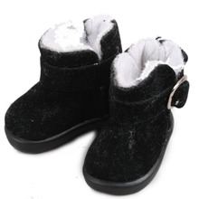 [ wamami ] nuevo negro botas bajas de nieve / zapatos para 1/6 SD AOD DOD DZ BJD Dollfie(China (Mainland))