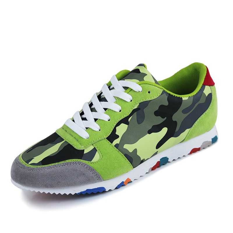 Wholesale Breathable Shoes Men Sport Fashion Patchwork PU Sneaker Lace Up Training Outdoor Use Rubber Outsole Stable<br><br>Aliexpress