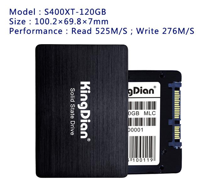 KingDian Most high performance For Notebook Computer Intertnal style SSD 2.5 SATA3 SSD Hard Drive 240GB 256GB 128GB SSD 120GB(China (Mainland))