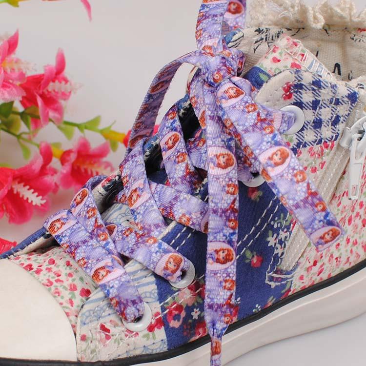 Гаджет  Sofia Princess printed cartoon shoes lace,Princess pets cartoon shoes ribbon 9mmx120cm long PSXD0235-239 None Обувь