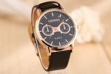 2015 relogio masculino famosa relojes correa de cuero relojes hombres marca de lujo reloj de cuarzo ocasional reloj hombre reloj montre