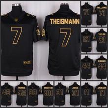 ABCThe 50 anniversary black gold men Elite Washington Redskins 91 Ryan Kerrigan 88 Pierre Garcon 28 Darrell Green 8 Kirk Cousins(China (Mainland))