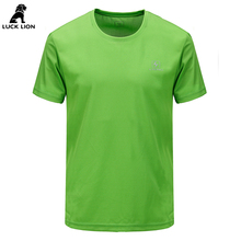 Evil lions camping hiking men short shirts solid outdoor spost quick dry short sleeve male UV breathable wear