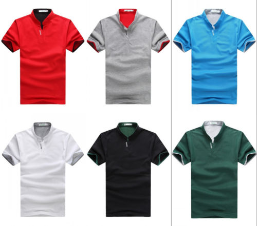 Summer Style Fashion Mens Casual Shirts Slim Fit Stylish Men Polo Shirt T-Shirts Short Sleeve Tops HOTS Calcinha Brand(China (Mainland))