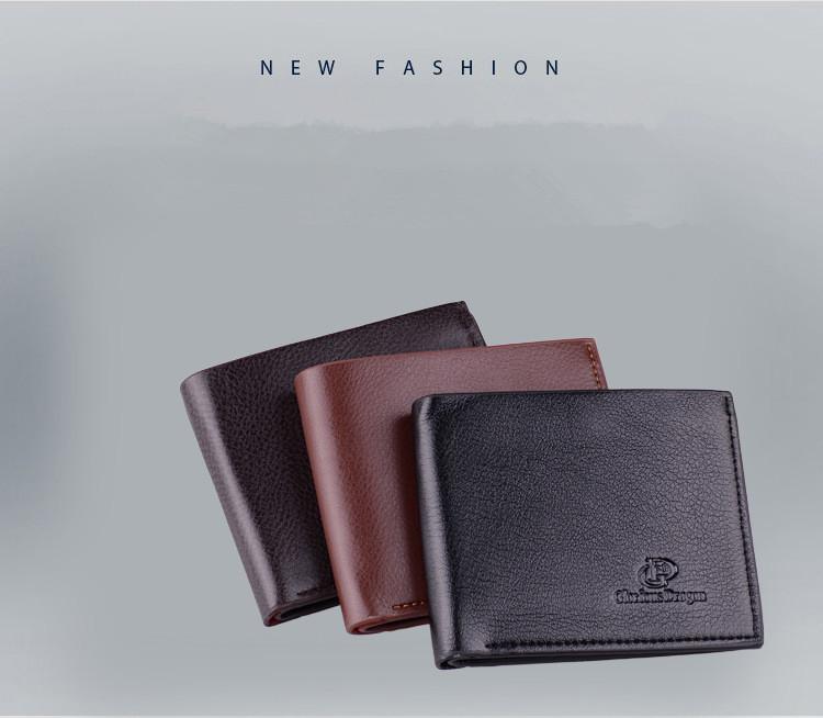 Soft Men wallet Short Design  Wallets Famous Brand Women Clutch purse Portefeuille 3 Color Option<br><br>Aliexpress