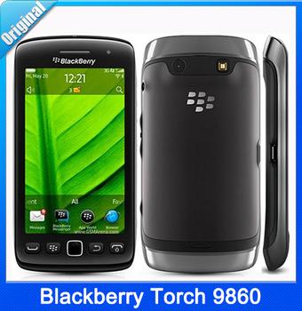 Blackberry, отремонтированный факел 9860 касание Monza wi-fi GPS 5 mp сенсорный экран разблокированный телефонов