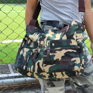 camouflage bag Leisure Canvas bags men and women<br><br>Aliexpress