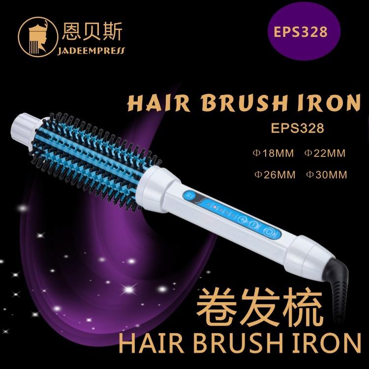 Ceramic hair hair brush iron hair curler electric anti hot straightening comb hair straightener hair tools<br><br>Aliexpress
