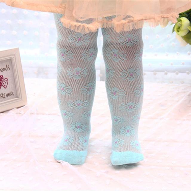 2015 новая весна радуга цветок колготки девочки колготки колготки дети хлопчатобумажные ...