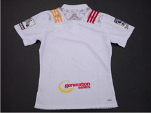 Hot ! Zealand rugby chiefs Away white Men's Jersey Warriors rugby shirts Embroidered Sublimate Jersey Free Shipping(China (Mainland))