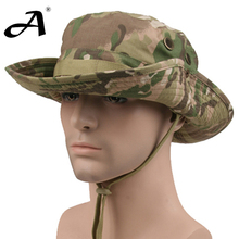 Tactical Airsoft  Sniper Camouflage Boonie Hats Nepalese Cap Militares Army Mens American Military Accessories Hiking A-tacs FG(China (Mainland))