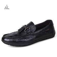 iVog Mens Driving Loafers 2017 Slip on Italian Genuine Leather Shoes Casual Male Shoe Man Flat Moccasin Alligator Pattern Tods(China (Mainland))
