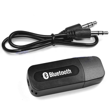 USB Wireless Bluetooth 3.5mm Music Audio Car Handsfree Receiver Adapter music audio for Car AUX, Home Speakers, PC, cellphone