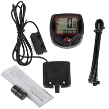 Waterproof Bike Computer,Bicycle Meter Odometer Speedometer With LCD Display,Cycling Computer Velocimetro Wired Stopwatch(China (Mainland))