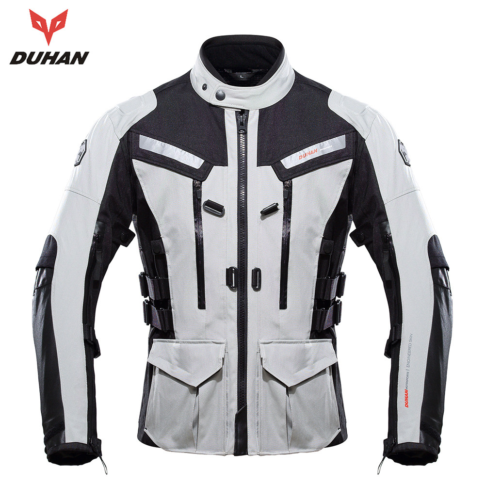 DUHAN Men's Motocross Off-Road Jacket Warm Winter Jaqueta with Elbow Shoulder Back Protector CE Motorbike(China (Mainland))